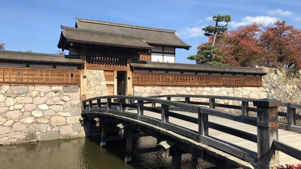 Features of Matsushiro Castle